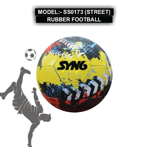 SS0173 (STREET) RUBBER FOOTBALL