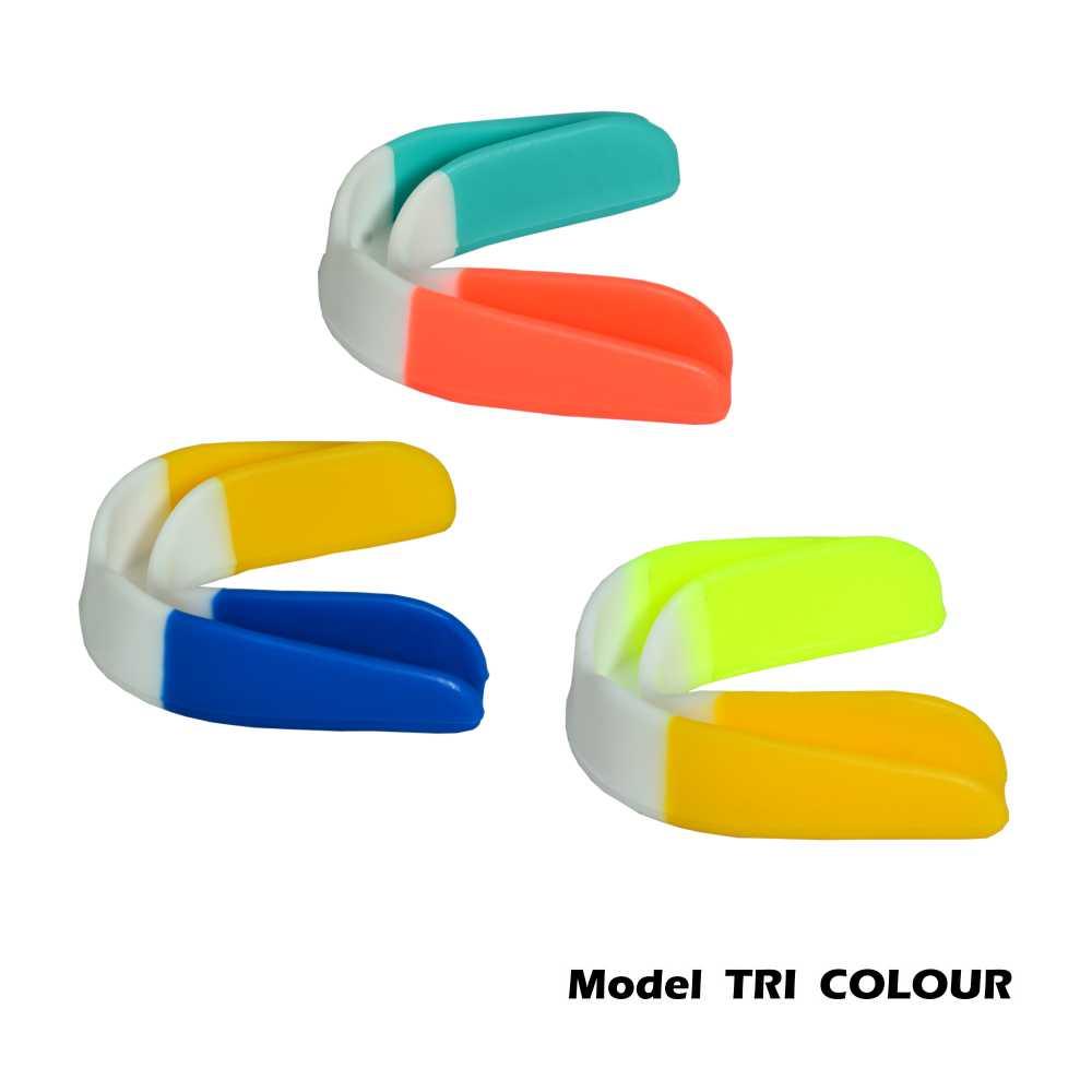Tri Colour Mouth Guard